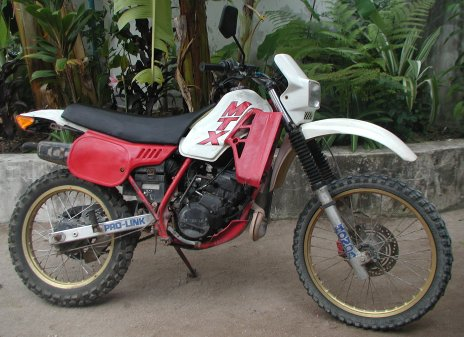 100cc honda dirt bike
