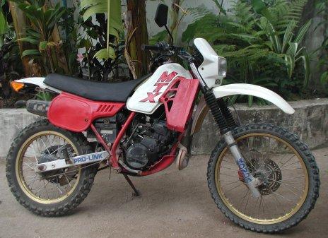 100cc honda dirt bike