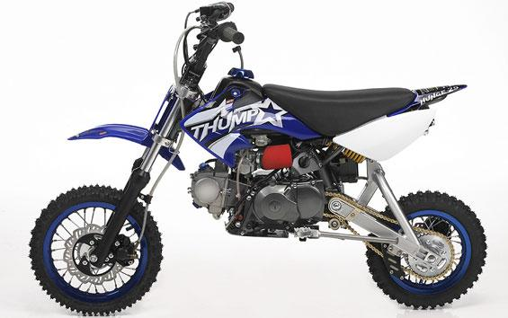 110cc bike dirt mini