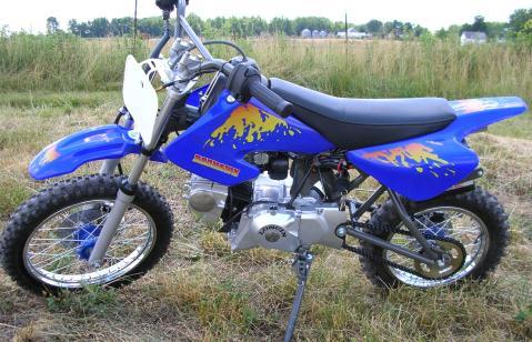 110cc super pocket bike