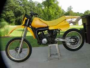 1982 yamaha yz 250 mx
