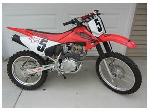 2007 Honda CRF 230F dirtbike motocross ride