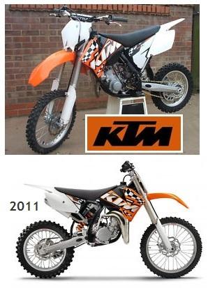 2011 KTM dirt bikes KTM pit bikes
