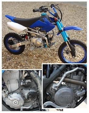 4 stroke MX motos four stroke pit bikes