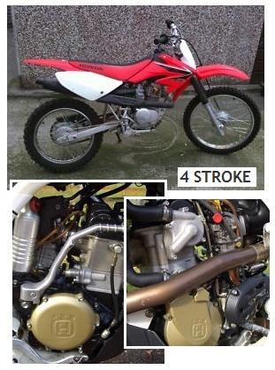 4 stroke motocross bikes four stroke dirt bikes
