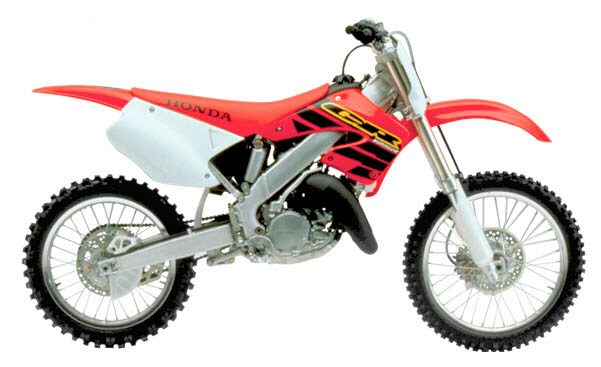 125cc bike dirt honda