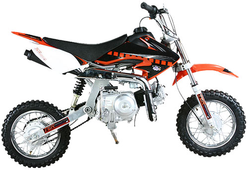 70cc bike dirt sale