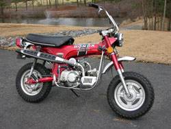 70cc honda dirt bike