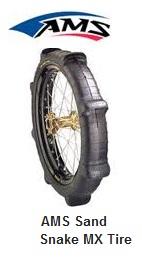 AMS Sand Snake MX tire dirtbike tyre