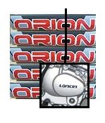 Apollo Orion Pit Bike Dirt Bike logo Loncin Engine