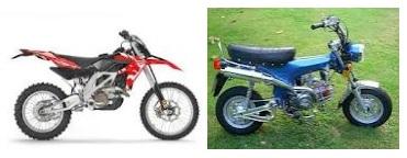 Aprilia RXV 550 and the OORacing Monkey Bike