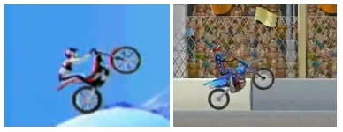Bike Mania On Ice and Dare Devil 2