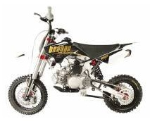 Braaap 150cc mini dirt bike moto