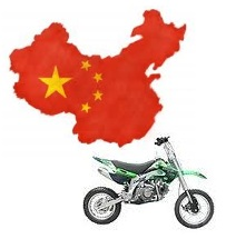 Chinese dirtbike pitbike manufactures in china