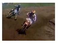 Cornering tips when racing a dirt bike