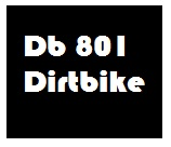 Db 801 motocross bike for kids