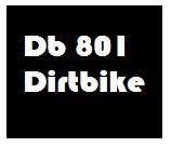 Db 801 motocross bike for kids