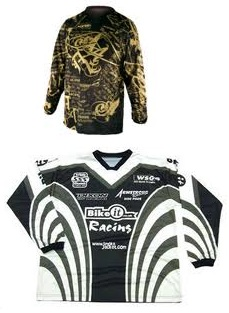 Dixon GP Racing Jersey and Acerbis JDP motocross jersey