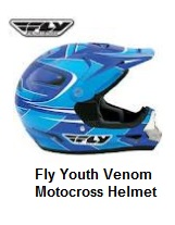 Fly Youth Venom dirt bike Helmet