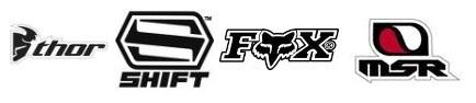 Fox motocross gear Shift msr thor gloves