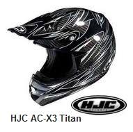 HJC AC-X3 Carbon Titan Helmet