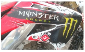 HONDA CRF450 2004 Motocross racing bike