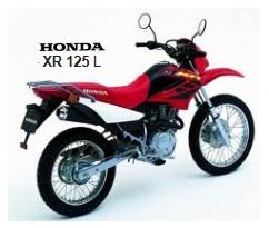 HONDA XR 125 L dirtbike