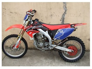 Honda CRF450X pitbike dirt bike