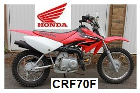 Honda CRF70F kids childrens motocross bike