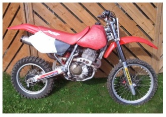 Honda dirtbike XR400 Classified advert