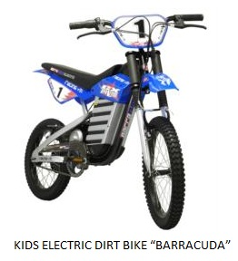 KIDS ELECTRIC DIRT BIKE BARRACUDA