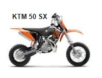 KTM 50 SX kids dirt bike