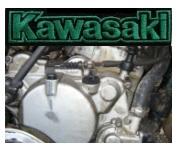 Kawasaki 125cc dirtbike engine