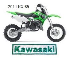Kawasaki 65cc motocross bike 2011 kx 65