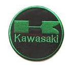 Kawasaki logo badge patch