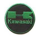 Kawasaki logo badge patch
