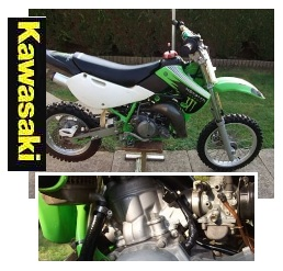 Kawasaki used motocross bike for sale