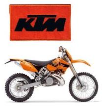 MX KTM 250 EXC dirt bike