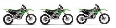 MX kawasaki dirtbikes bargains for sale