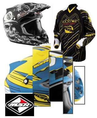 Malcolm Smith Racing msr helmets