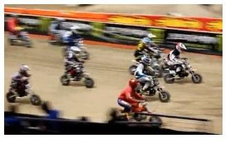 Mini pitbike racing