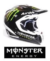 Monster Energy dirt bike Helmet