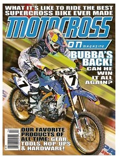 Motocross Action Magazine April 2011 inc James Stewart
