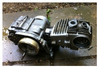 Pocket bike parts engine motor