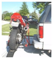 Quick Dirtbike carrier motocross carrier