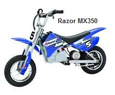 Razor MX-350 Electric Dirt Bike