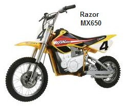 Razor MX-650 Electric Dirt Bike