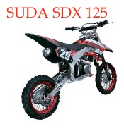 SUDA SDX 125 stunt dirt bike