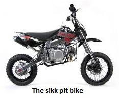 Sikk Pit Bike for off road fun