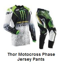 THOR PHASE MOTOCROSS jersey and pants